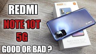 Redmi Note 10T 5G Blue Colour Unboxing - Should You Buy it ?