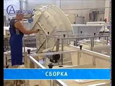 Акриловые ванны АКВАТЕК (Россия)