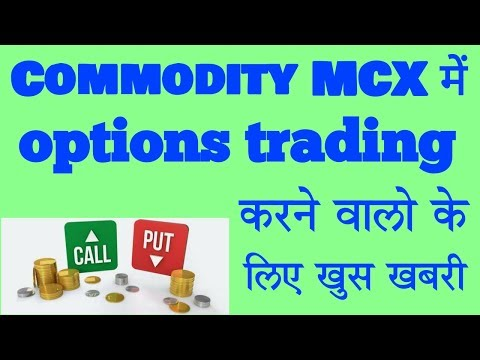Mcx Commodity Option trading,Options trading,Stock options,options trading in india.