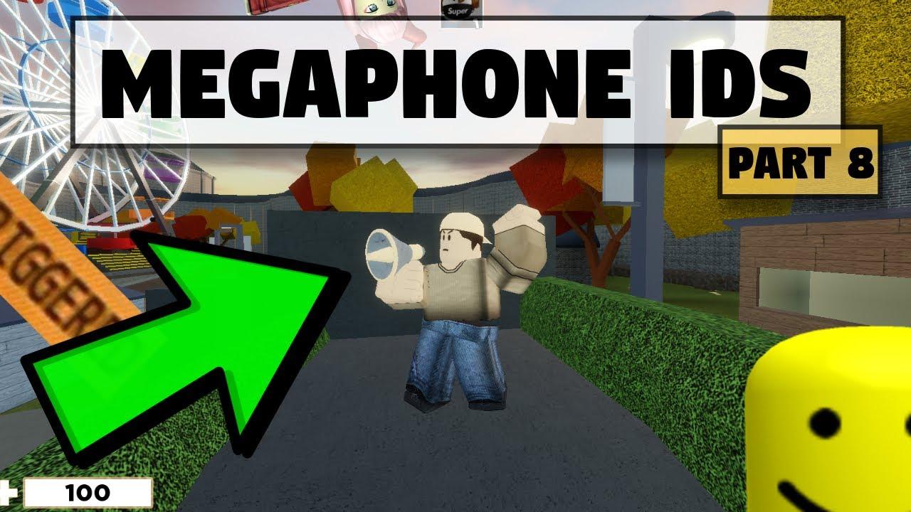 roblox arsenal megaphone ids codes