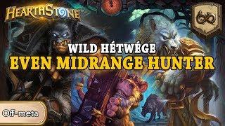 Wild Hétwége: Even Midrange Hunter - Hearthstone