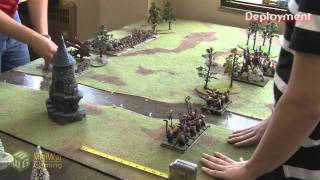 Ogres vs Tomb Kings Warhammer Fantasy Battle Report - Part 1/4 - Beat Matt Batrep