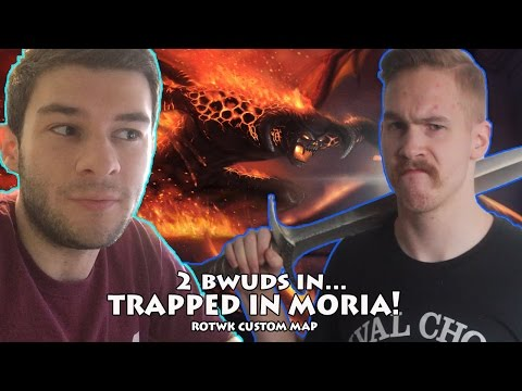 BFME2: RotWK Custom Map - Trapped in Moria!! feat. Macklenot