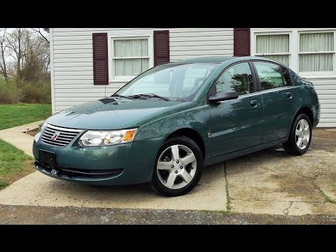 2007 Saturn ION Level 2 Sedan Start Up, Review and Full Tour