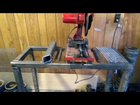 Chop saw stand build day 2