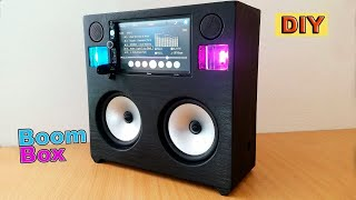 DIY: Portable Boombox Speaker Loud System