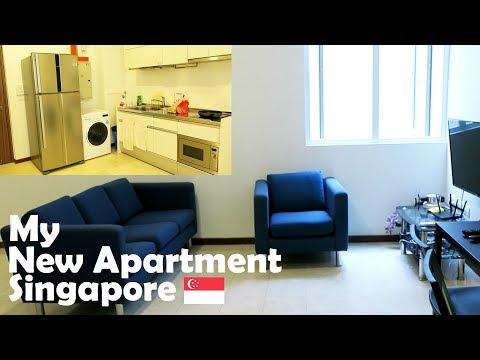 Singapore, My new apartment tour