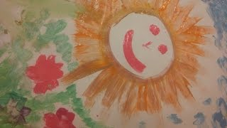 Жека и Макс: урок свободного рисования.Free drawing for kids.