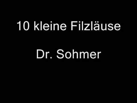 Dr Sohmer  10 kleine Filzläuse
