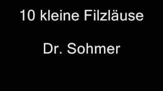 Dr. Sohmer - 10 kleine Filzläuse