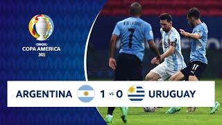 HIGHLIGHTS ARGENTINA 1 - 0 URUGUAY | COPA AMÉRICA 2021 | 18-06-21