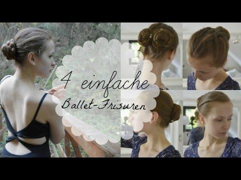 4 Einfache Schnelle Ballett Frisuren Ballet Buns Serotonin