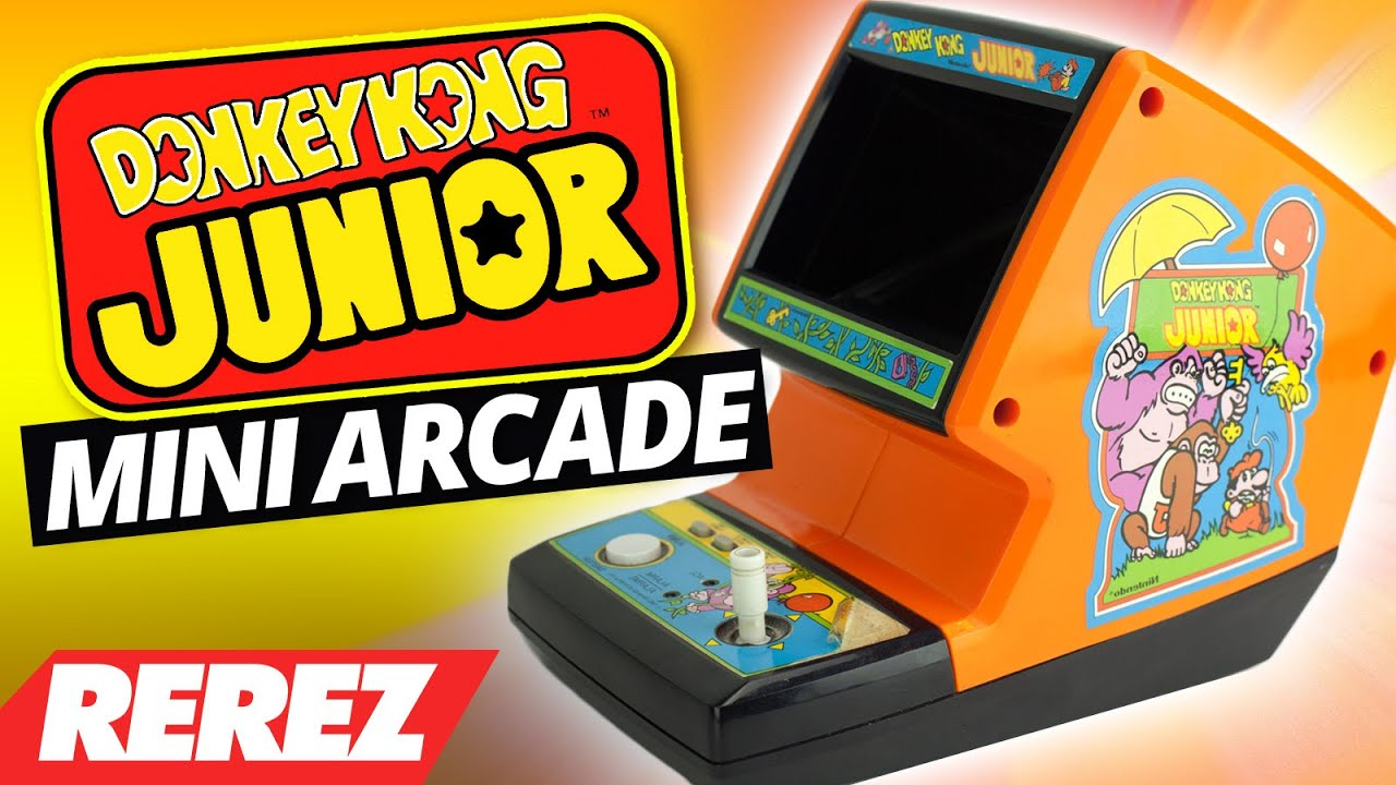 The Tiniest Donkey Kong Jr Arcade Ever Rare Obscure Or Retro