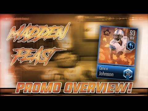 MADDEN FEAST *OVERVIEW* COMPLETE GUIDE TO THE PROMO! Madden Overdrive Thanksgiving Promo