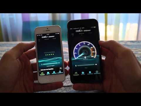 Speedtest 4G Tim vs Vodafone