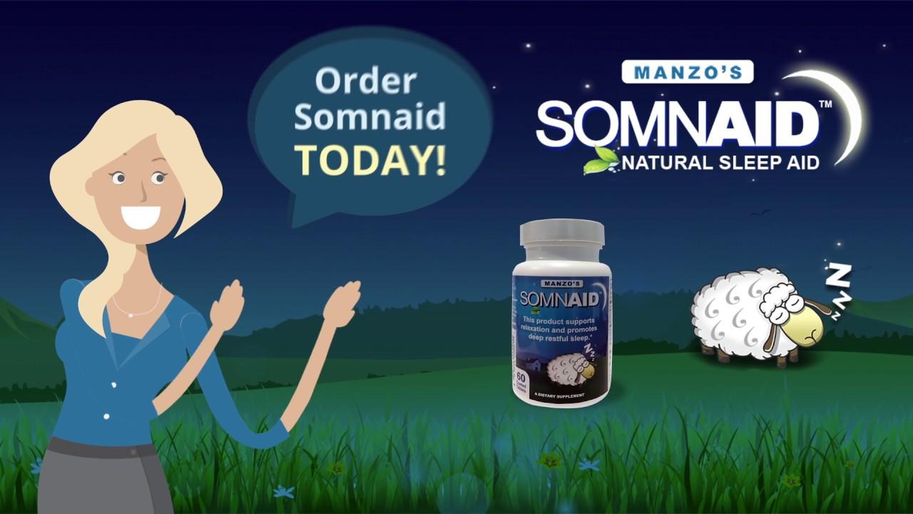 Wake up refreshed with Somnaid Sleep Aid