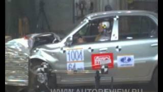 Краш-тесты популярных автомобилей.  Geely CK, CK-2, Otaka