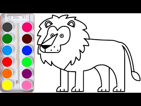 Coloring for Kids with Animals of India - Colouring Book for Children