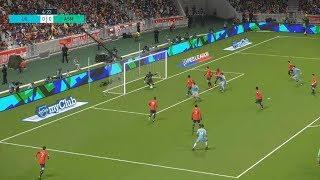 [HD] Lille OSC vs AS Monaco   Ligue 1   Journée 07   22 Septembre 2017   PES 2018