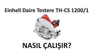 Einhell TH-CS 1200 Daire testere