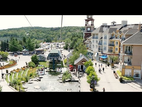 Canadian  Ski Resort Mont-Tremblant Quebec Canada In Summer