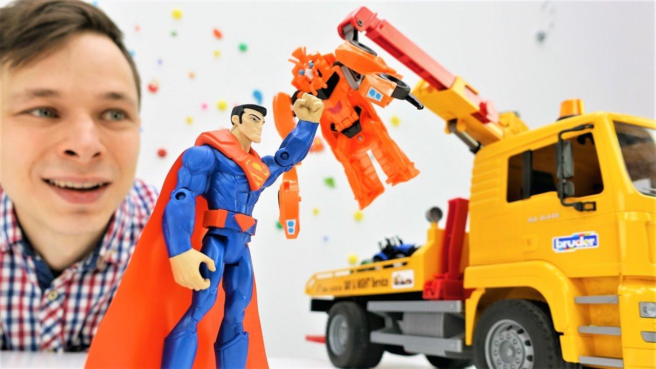 Мастерская Фёдора - Трансформеры, машинки и Супермен!