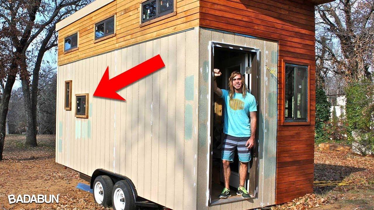 Mira c mo luce la casa m s peque a del mundo youtube for Mini case interni