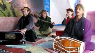 2 OM NAMAH SHIVA Bhajans From Mukandi Lal In BABAJI Italian Temple Haidakhan India