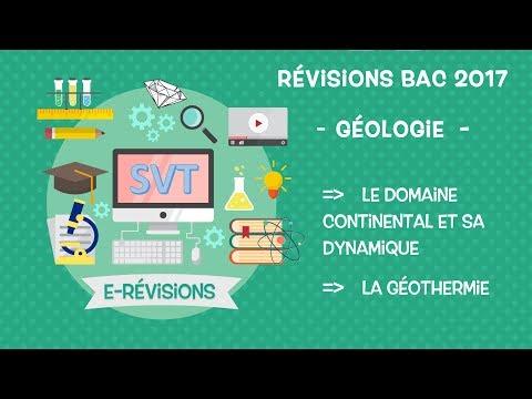 LIVE : Révision BAC SVT 2017 : La géologie !