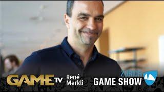 Game TV Schweiz - Interview mit René merkli   FOUNDER SENIOR ESPORTS    Zürich Game Show