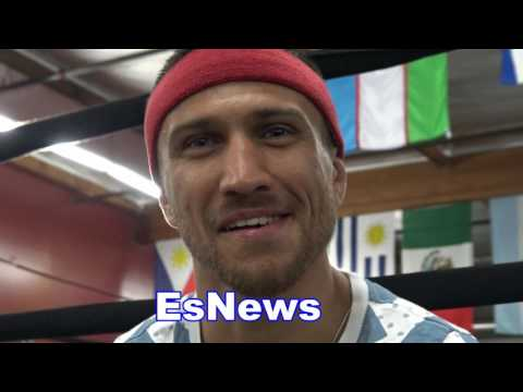 Lomachenko On GGG Jacobs Fight And the P4P List EsNews Boxing