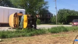 School bus crash near Lancaster, Pa.