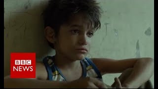 Refugee boy stars in Oscar-nominated film - BBC News
