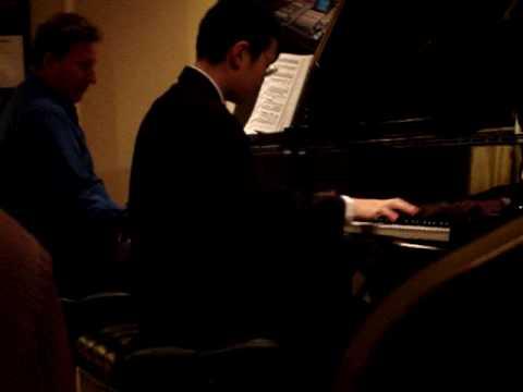 Shostakovich Piano Concerto No. 1, Prestissimo
