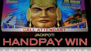 *JACKPOT HANDPAY!* MAYAN CHIEF | KONAMI -  Slot Machine HUGE WIN