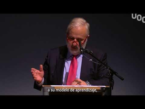 Parlamento del rector en el acto de graduación 2016-2017 de la UOC en Madrid