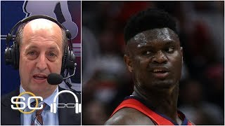 Unfortunate Zion Williamson couldn't stay in the game - Jeff Van Gundy | SC with SVP