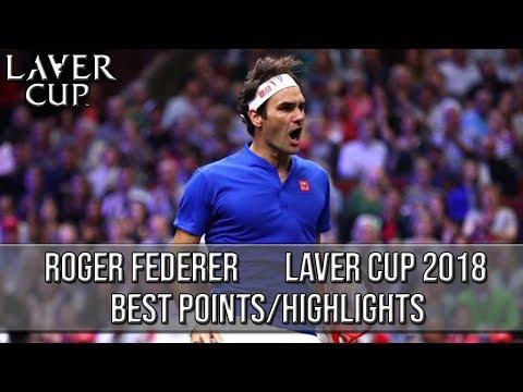 Roger Federer - Laver Cup 2018 Best Points/Highlights (HD)