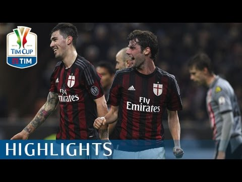 Milan - Alessandria - 5 - 0 - Highlights - Semifinale - TIM Cup 2015/16