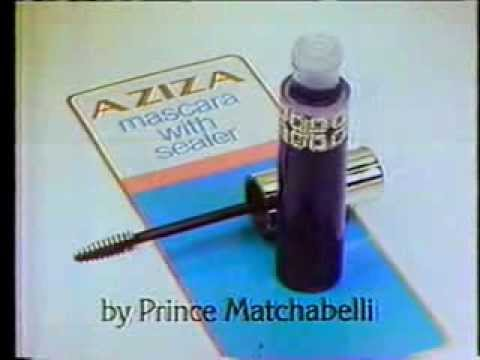 Rene Russo 1980 Aziza Mascara Commercial