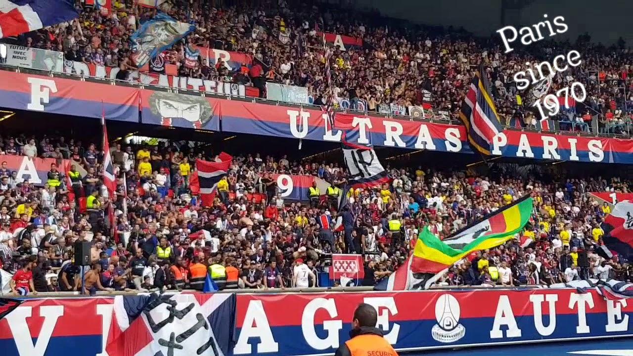 ultras virage auteuil psg angers j3 ligue 1