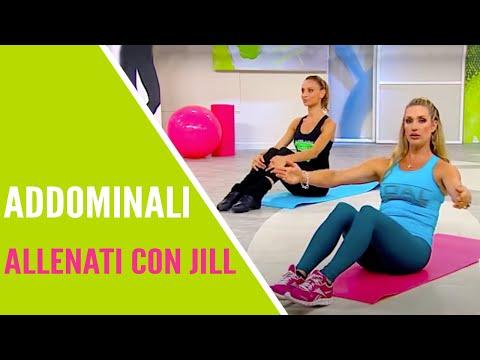 jill cooper - allenati con jill addome e non solo da seduto - youtube