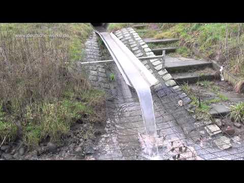 Abwasserfall 2013 Exkremente Episode 1 ( sewage waterfall )