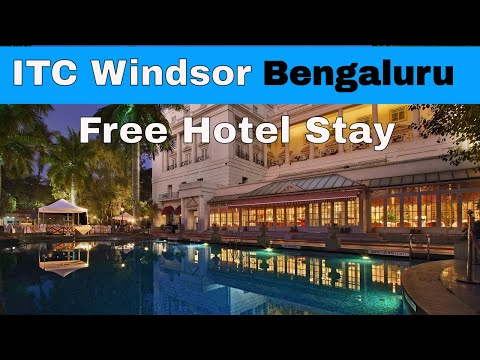 Our Free Stay At A 5 Star Hotel | ITC Windsor In Bengaluru | Marriot Bonvoy