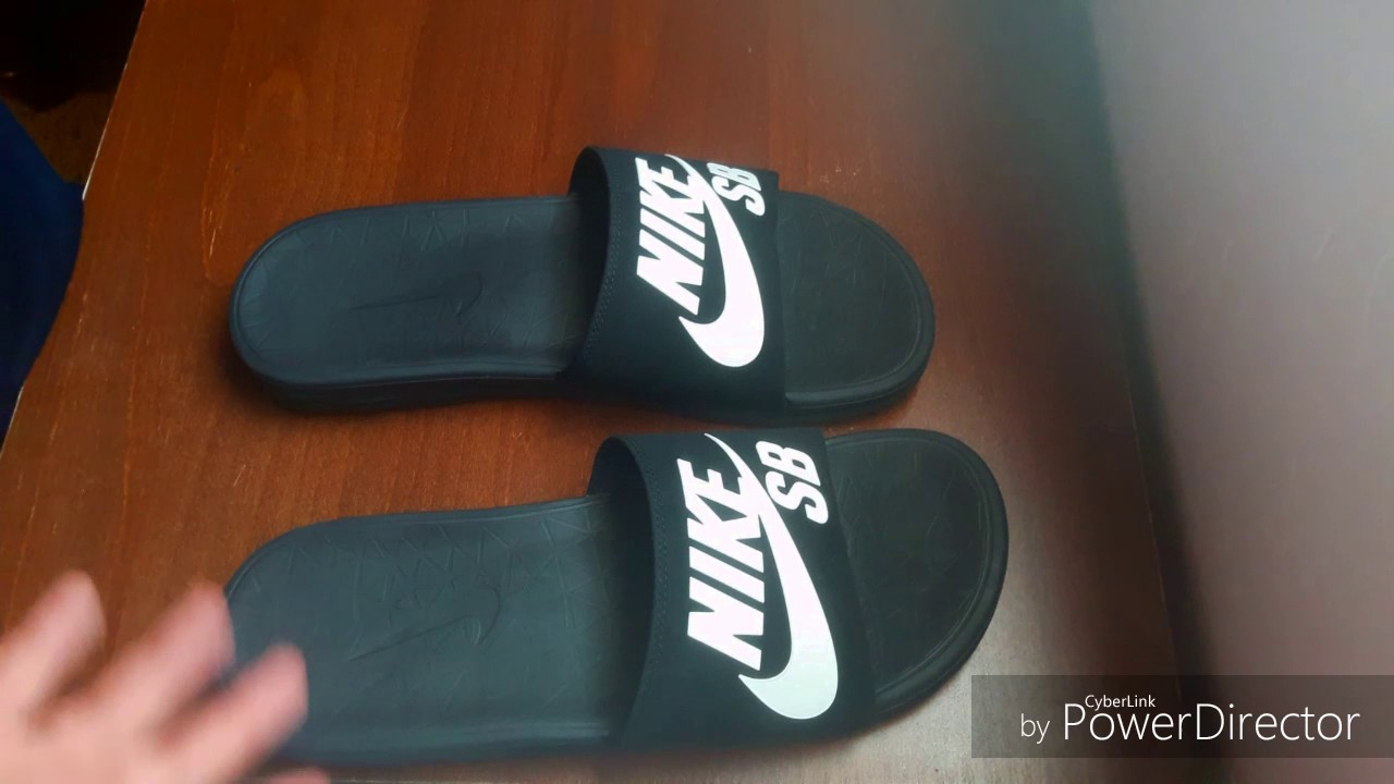 27420405286e09 Unboxing nike sb solarsoft slides - YouTube