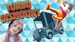 Flying Cats & Car Crashes Galore | Turbo Dismount