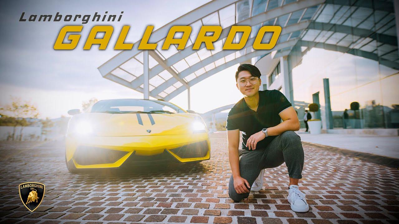 UN DÍA con un Lamborghini Gallardo