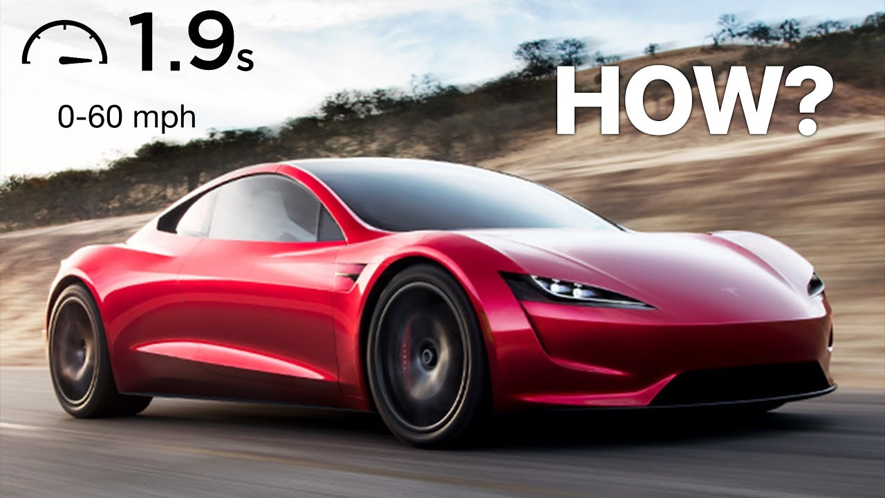 Tesla Roadster Announced Insane 0 60 In 1 9 Seconds Youtube