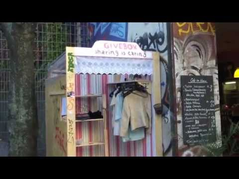 GiveBox Berlin Kreuzberg - Wer pflegt den Kiez wirklich?