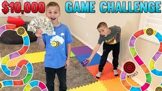 Giant Board Game Challenge - Winner Gets $10,000!!